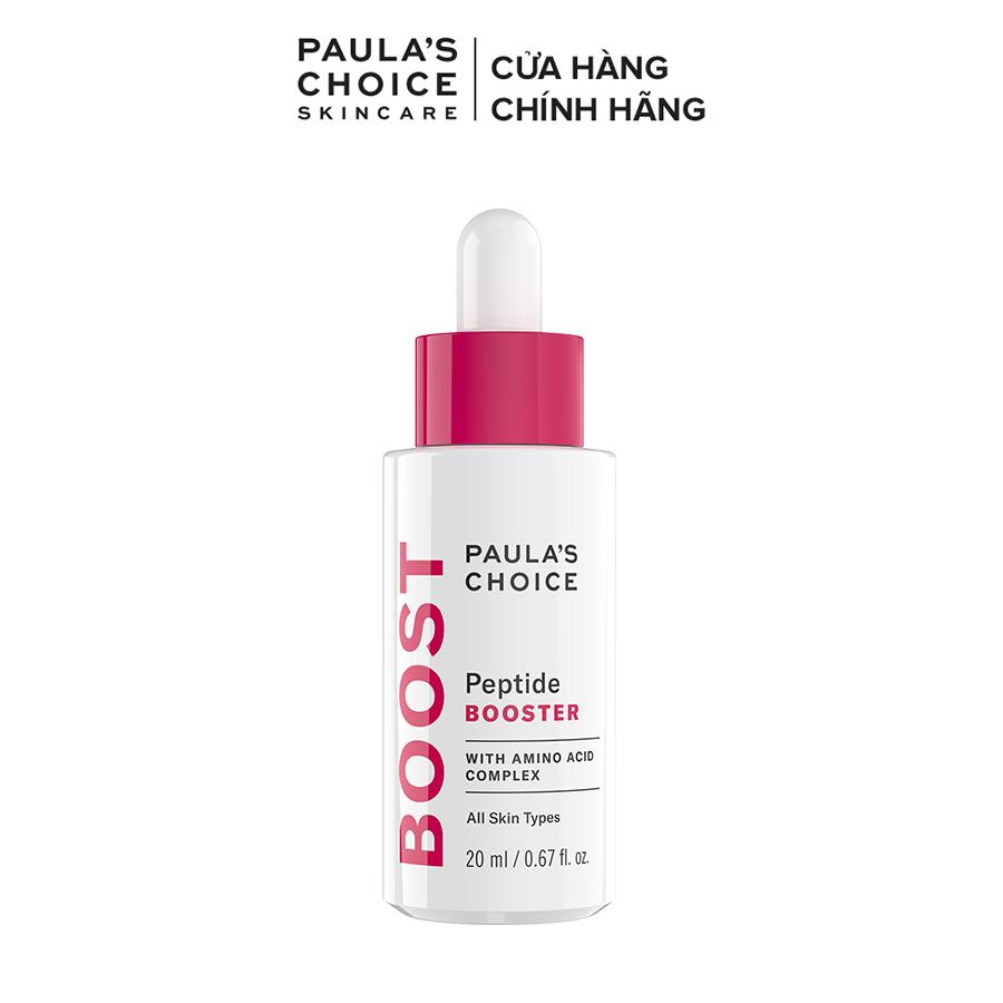 Tinh chất phục hồi làm khỏe và săn chắc da Paula's Choice Peptide Booster 20ml