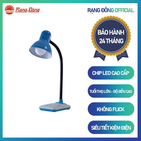 Đèn bàn Bảo vệ Thị lực RD-RL-26.LED Chính hãng Rạng Đông Tiết kiệm điện Dải ánh sáng phù hợp bảo vệ mắt Thiết kế sang trọng