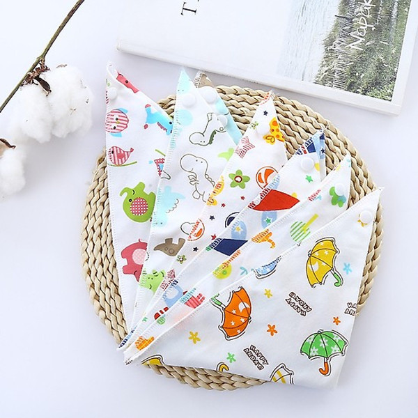 Giá bán Combo 10 khăn yếm tam giác xuất nhật cho các bé
