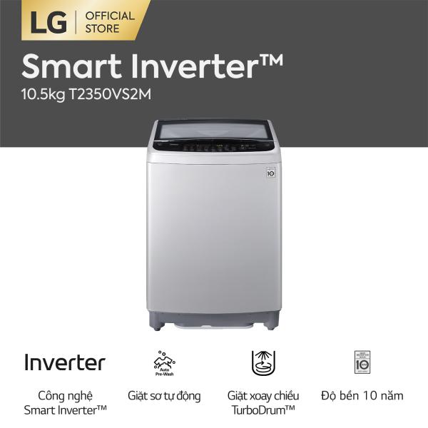 Bảng giá [FREESHIP 500K TOÀN QUỐC] LG Smart Inverter™ Máy giặt lồng đứng 10.5kg (bạc) T2350VS2M Điện máy Pico