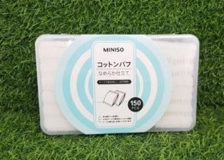 Bông Tẩy Trang Nhật Bản Miniso 150 Miếng thumbnail