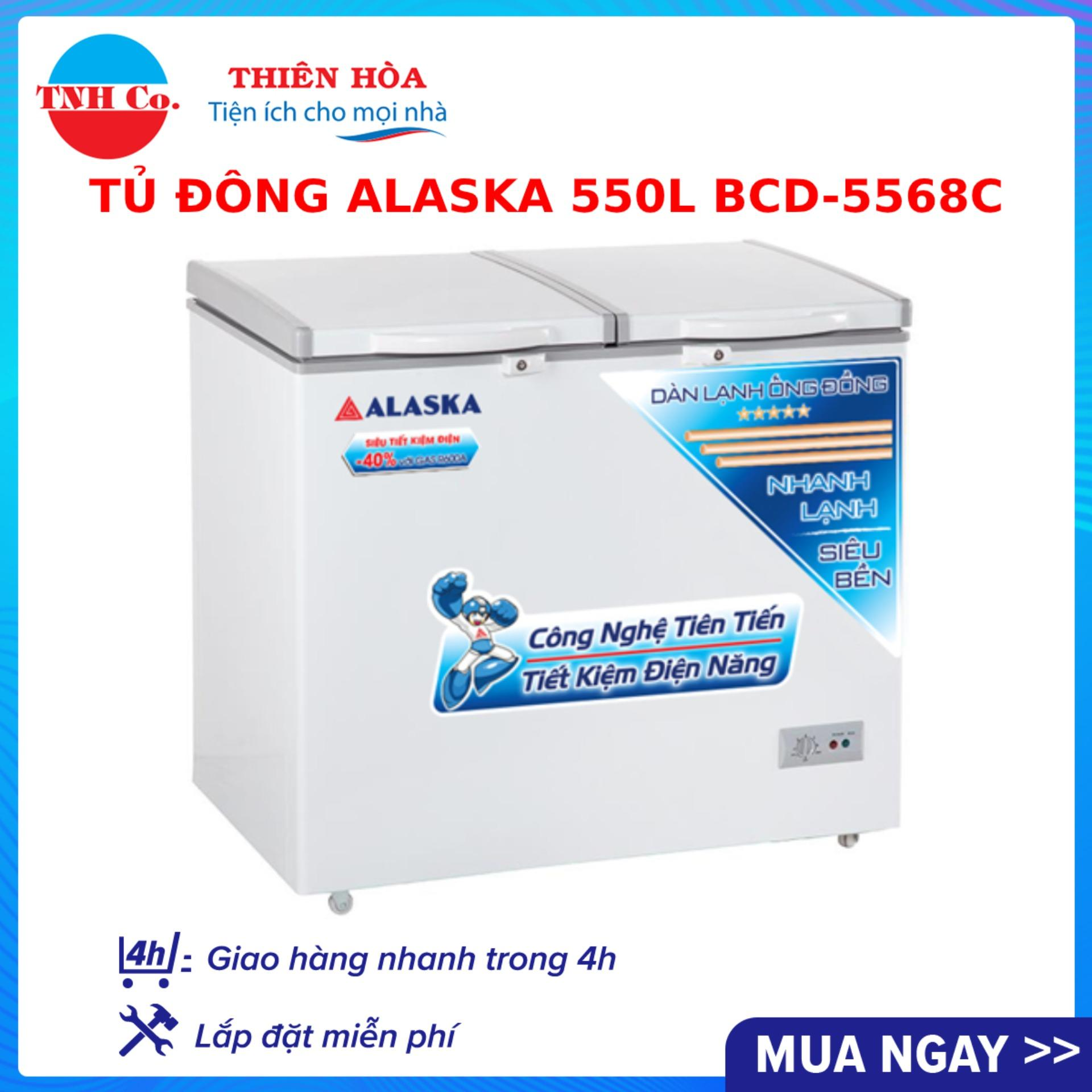 Bảng giá Tủ đông Alaska 550 lít BCD-5568C Điện máy Pico