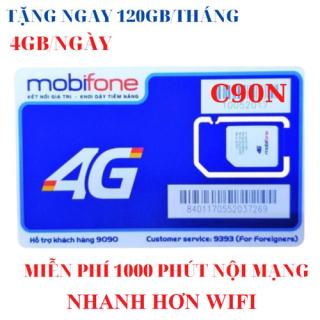 Sim 4G Mobifone C90N Miễn Phí 01 Tháng - Sim C90N Free 1 Tháng - 4GB NGAY thumbnail