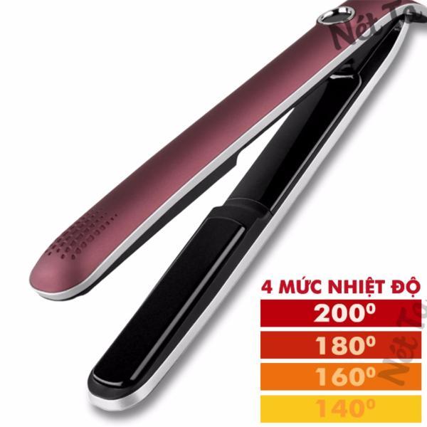 Máy duỗi tóc cao cấp Kemei KM-2203 màn hình LCD điều chỉnh nhiệt chuyên nghiệp - duoi toc, làm tóc