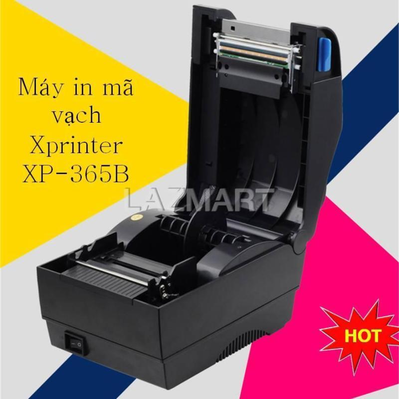 Máy in nhãn mác, Máy in mã vạch tem nhãn, Máy in đa năng Xprinter XP-365B in trực tiếp không cần mực Mã vạch in theo đúng quy chuẩn và kích thước khổ giấy, Tốc độ in cực nhanh Bảo hành lâu dài tại Landmark