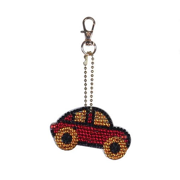 Mua 5 Pack Car Shaped Diamond Keychain Sports Car Diamond Painting Childrens Handmade Pendant Bag School Bag Pendant