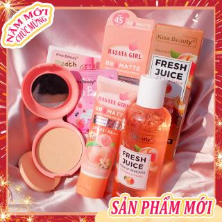 [Peachy Sis Shop] Bộ trang điểm cơ bản cho mặt + Bộ tẩy trang (Mặt nạ + BB Cream + Phấn trang điểm + Tẩy trang) thumbnail
