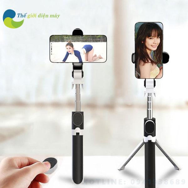 Gậy selfie bluetooth 3 chân tripod XT09 cho điện thoại GAY 3 - Shop Thế Giới Điện Máy
