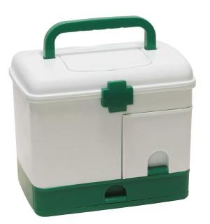 Hộp đựng y tế nhựa PP chuyên dụng cho gia đình- tiện dụng gọn gàng tiết kiệm diện tích thumbnail