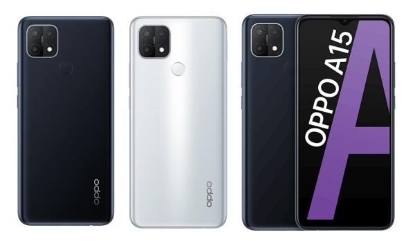 Điện thoại Oppo A15 (3GB/32GB)-Màn hình 6.52inch HD+ bộ 3 Camera sau Pin 4230mAh Cảm biến vân tay nằm ở mặt lưng