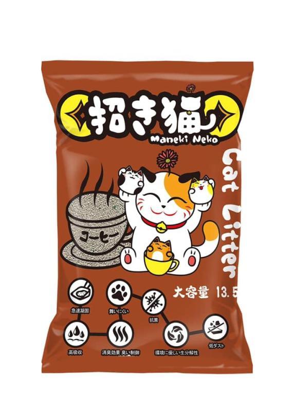 Cát vệ sinh cho mèo MANEKI NEKO cat litter 5L