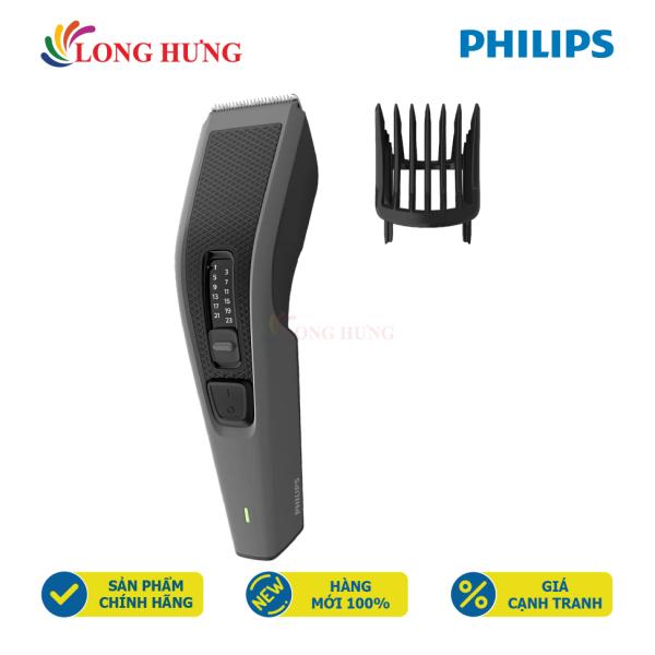 Tông đơ cắt tóc Philips HC3520/15 - Hàng chính hãng - 13 chế độ dài khác nhau, lưỡi cắt bằng thép không gỉ