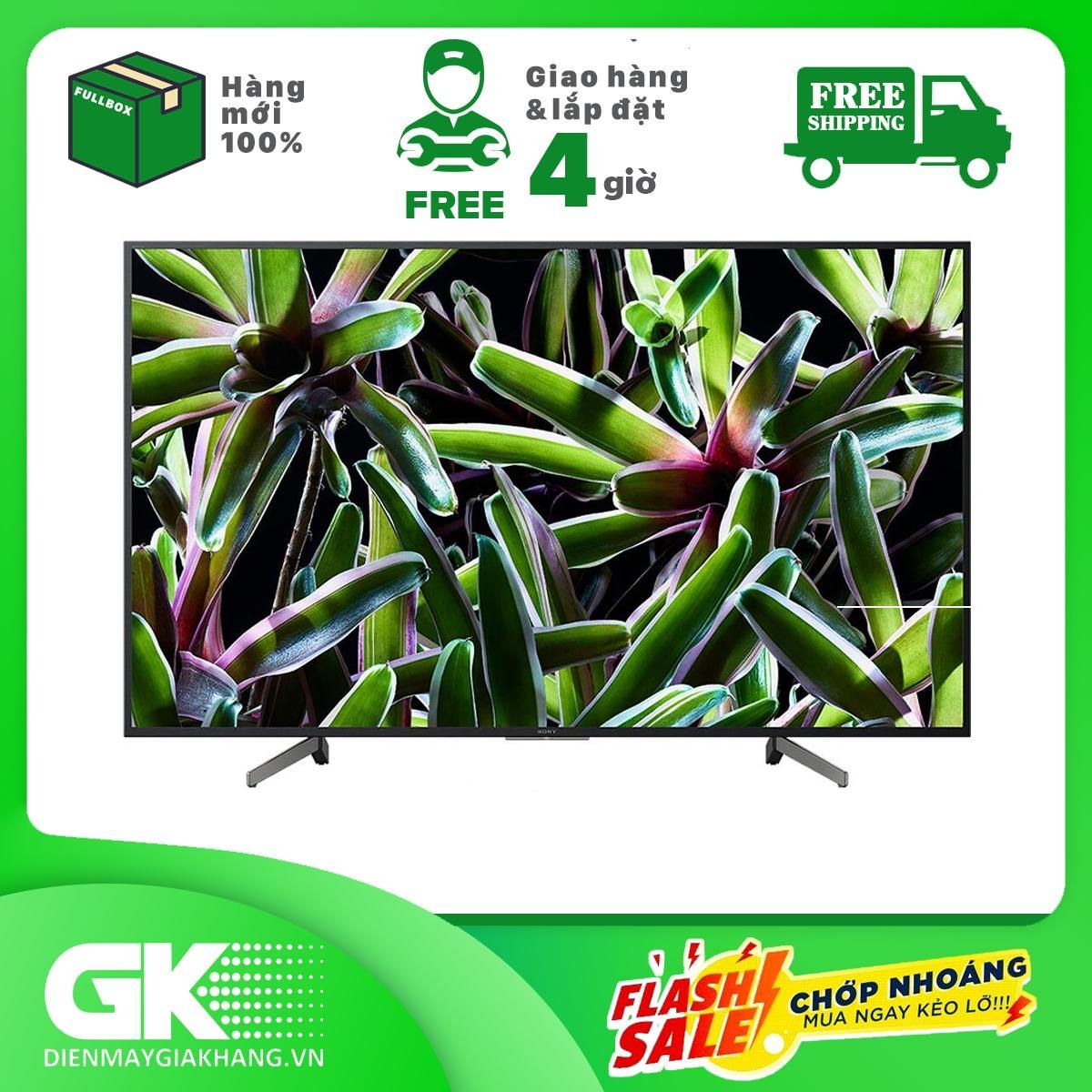 Bảng giá Smart Tivi Sony 4K 49 inch KD-49X7000G Mẫu 2019