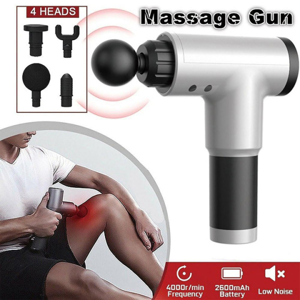Hướng Dẫn Cách Massage Toàn Thân Đơn Giản Mà Hiệu Quả, Máy Massage Toàn Thân - Thương Hiệu Số 1 Việt Nam-, Máy Massage Giúp Giãn Cơ Bắp, Tiện Lợi - Fascial Gun, Máy Dùng Pin Sạc Dễ Dàng Mang Ra Sử Dụng Ngay Khi Cần, BH 12 Tháng