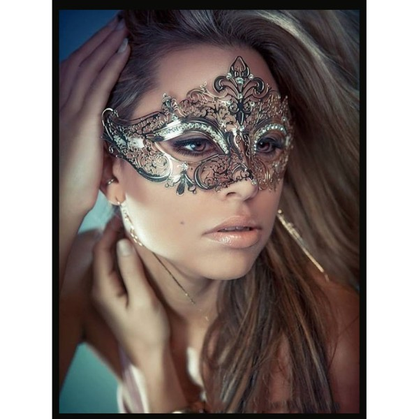 Mặt Nạ Halloween Nữ Hoàng Bóng Đêm
