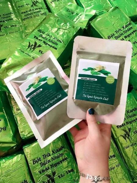 Combo 2 gói trà xanh 100 gram nguyên chất 100%-natural matcha tốt nhất