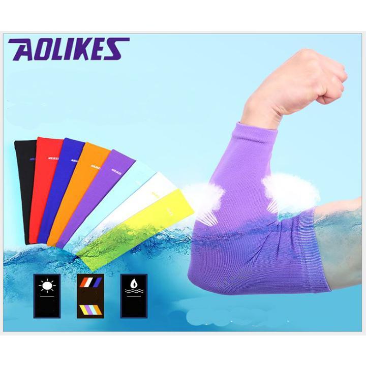 Găng tay chống nắng thể thao Aolikes A7146 (1 đôi) - 3