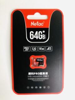 [HCM]THẺ NHỚ NETAC 64GB U3 PRO MICRO TF TỐC ĐỘ CAO 98MB S CHÍNH HÃNG thumbnail