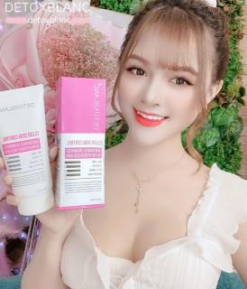 Sữa rửa mặt Detox BlanC Làm sạch da sinh học, sủi bọt, thải độc tố đa năng Clear Skin Control mẫu mới cam kết hiệu quả B orial Korea thumbnail