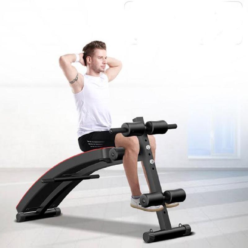 dụng cụ tập thể dục, thể hình đa năng tai nhà - ghế cong tập cơ bụng, lưng , hông, tay, chân.