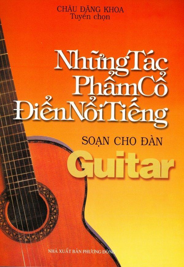 Mua Những Tác Phẩm Cổ Điển Nổi Tiếng Soạn Cho Đàn Guitar