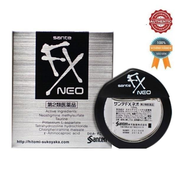 Nhỏ Mắt Sante FX Neo 12ml chính hãng của Nhật nhập khẩu