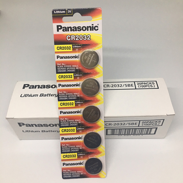 Pin CR2032 Panasonic vỉ 5 viên