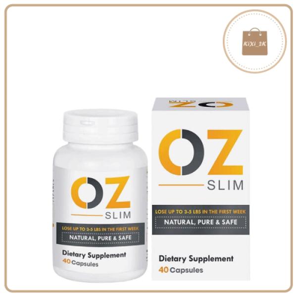 [HÀNG CHÍNH HÃNG] Viên uống giảm cân OZ Slim Natural, Pure & Safe 40 viên