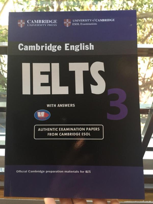 Mua Cambridge IELTS 3 không CD