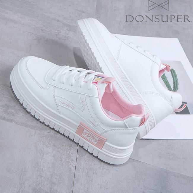 Giày Nữ Trẻ Trung Cá Tính Donsuper GN67 giá rẻ