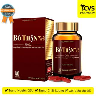 Bổ Thận TW3 Gold (Hộp 30 viên) - giúp bổ thận, tăng cường chức năng sinh lý nam giới - cvspharmacy thumbnail