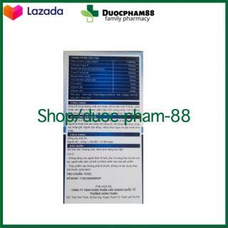 ( CHÍNH HÃNG) - Viên uống bổ xương khớp Glucosamin 1400mg giảm đau nhức mỏi xương khớp, giảm thoái hóa khớp - Hộp 60 viên HSD 2023 - HSD 2023 chuẩn GMP 2
