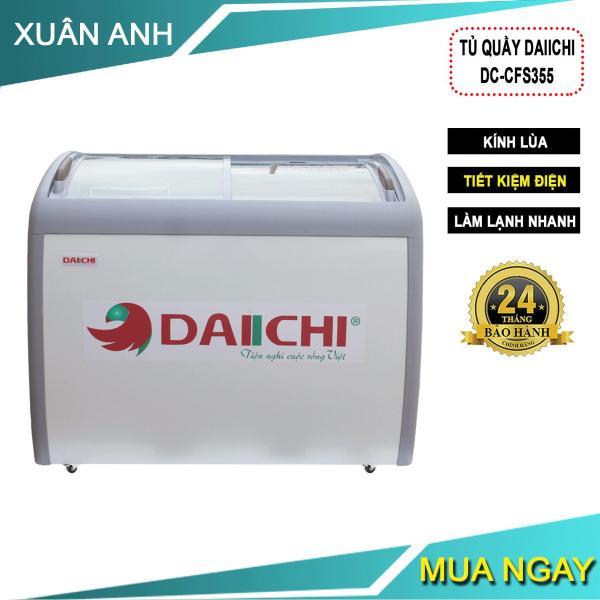 Bảng giá Tủ Quầy, Tủ Kem Mặt Kính Cong Daiichi CFS 355- Hàng Chính Hẵng Điện máy Pico