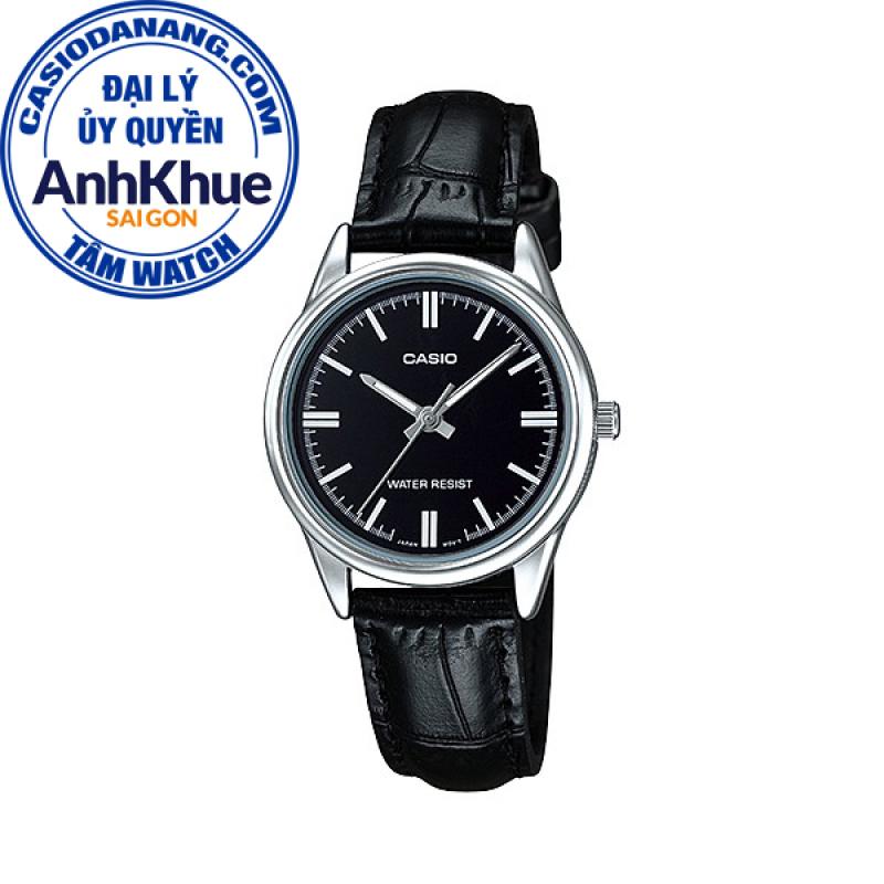 Đồng hồ nữ dây da Casio Standard chính hãng Anh Khuê LTP-V005L-1AUDF (28mm)