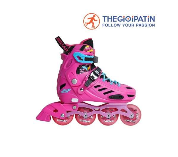 Mua Giày trượt Patin Cougar MZS 313 QS : Túi đựng giày, Áo CLB, Bảo hộ tay chân, khóa học 3b