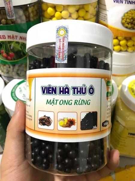 Hà thủ ô mật ong 1kg ( rụng tóc , đen tóc , bồi bổ sưc khỏe )