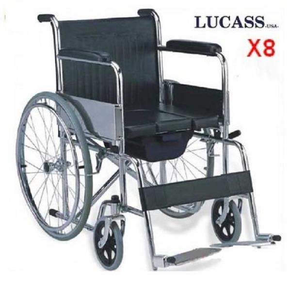 Xe lăn có bô vệ sinh LUCASS X8
