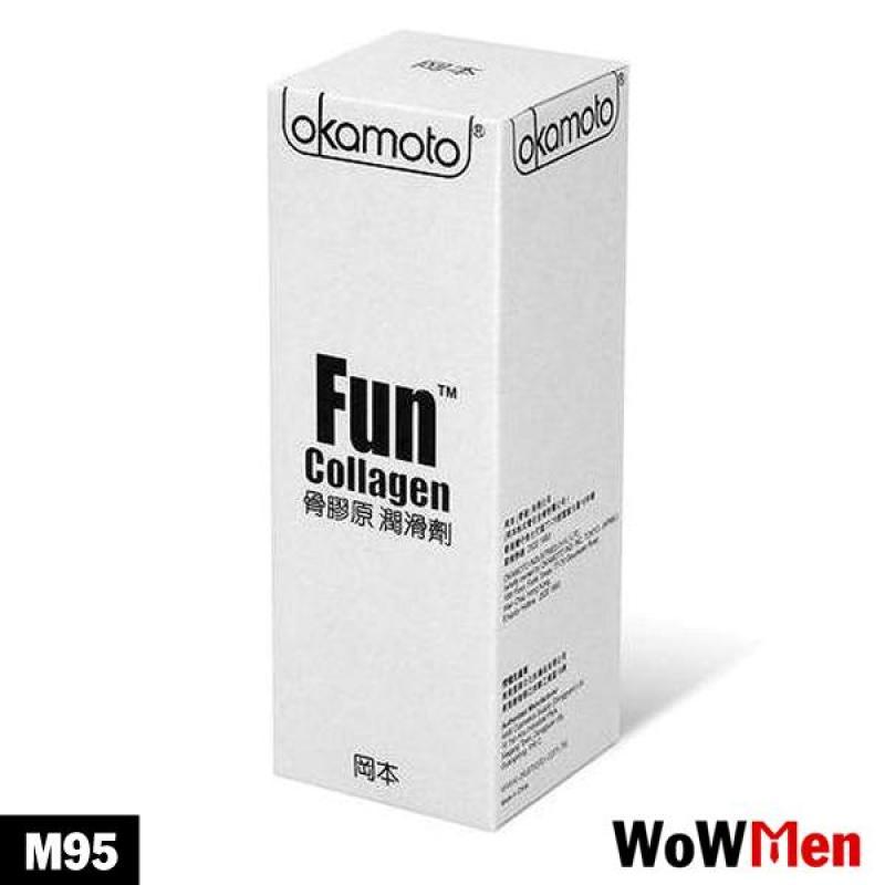 Gel Bôi Trơn Dưỡng Ẩm Da Chính Hãng Nhật Bản Giá Rẻ Okamoto Collagen - M95
