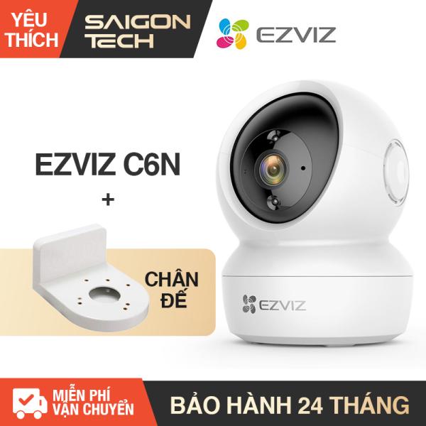 [NHÀ PHÂN PHỐI] Camera IP Wifi  EZVIZ CS-CV246 C6N 2.0MP (1080P) Xoay 360 Thông Minh - Camera Giám Sát WIFI Không Dây - Camera An Ninh - Đàm Thoại 2 Chiều - Saigon Technology