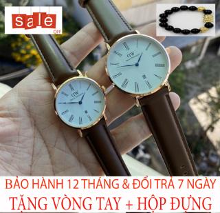 Đồng hồ nam nữ DW M2 [TẶNG VÒNG TAY] [Liên quan nữ cao cấp - đeo tay nữ đẹp - cặp đôi - dây da - dong ho thuy sy giá rẻ - đồng hồ cơ - vòng tay nữ - thông minh - thể thao - dây thép - quai thép - quai da - dây lưới - nam châm] thumbnail