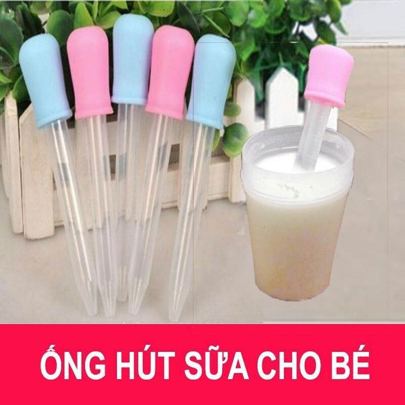Combo 10 ống Bón Sữa Cho Bé Khuyến Mãi Sốc