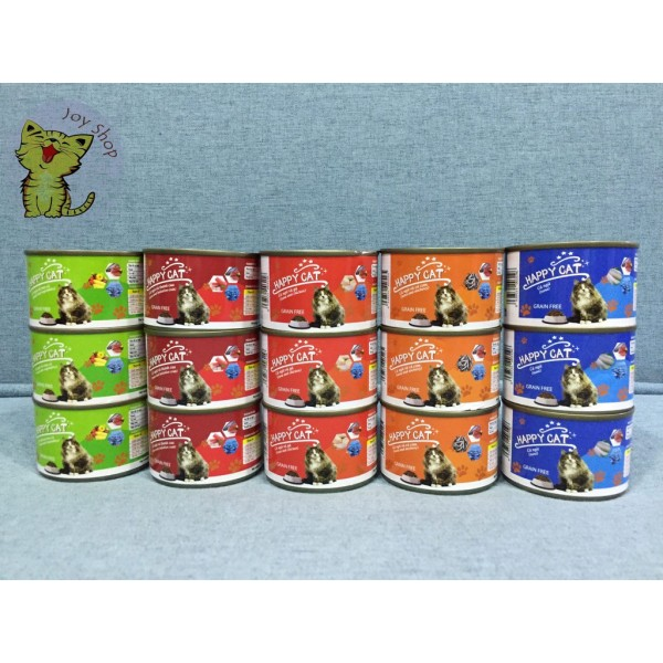 PATE HAPPY CAT LON 160GR
