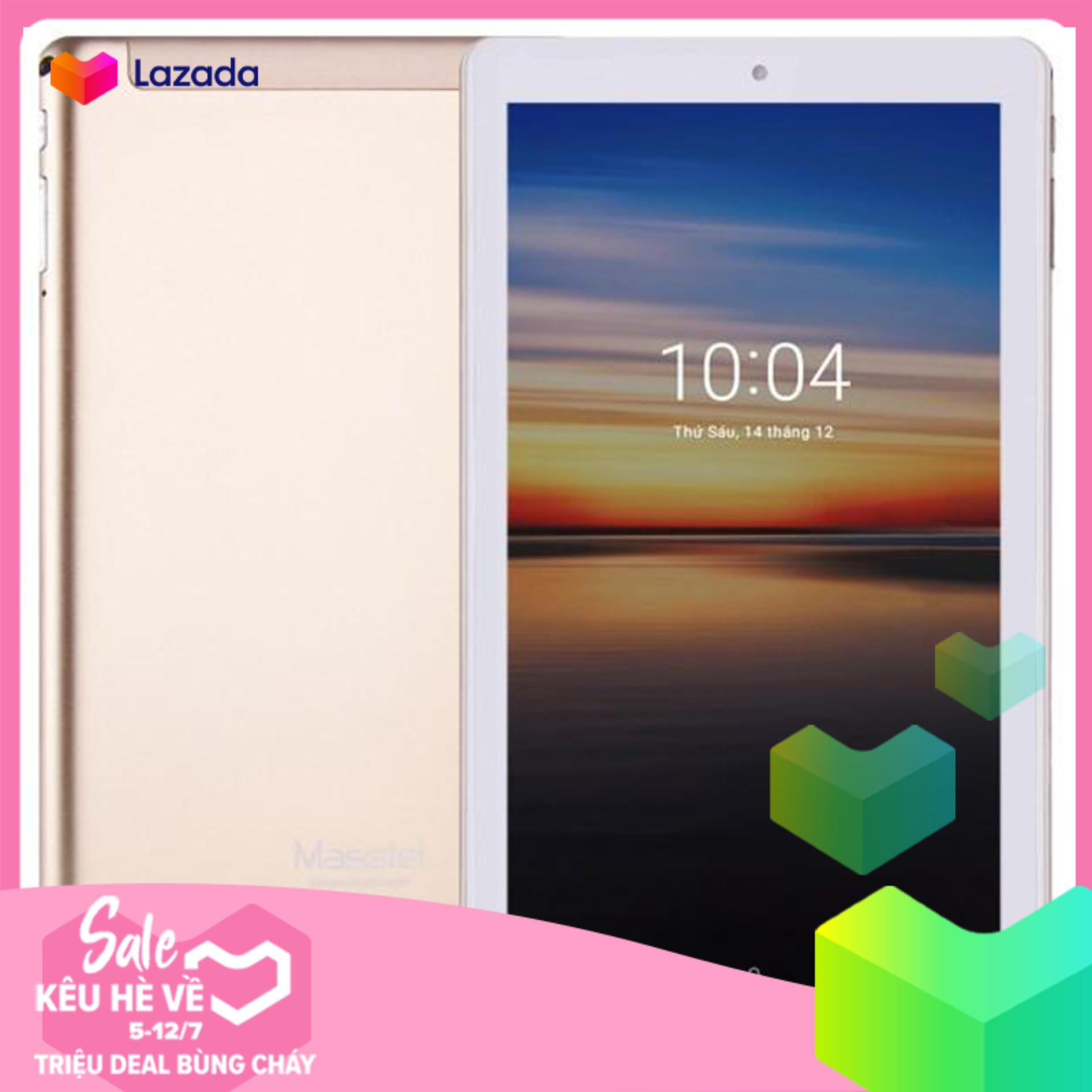 Máy Tính Bảng Masstel Tab 10 Plus - Màn Hình 10.1 Inch - Nghe gọi Được - Kết Nối WIFI + 3G + OTG - Tặng Bao Da Hãng Nhật Bản