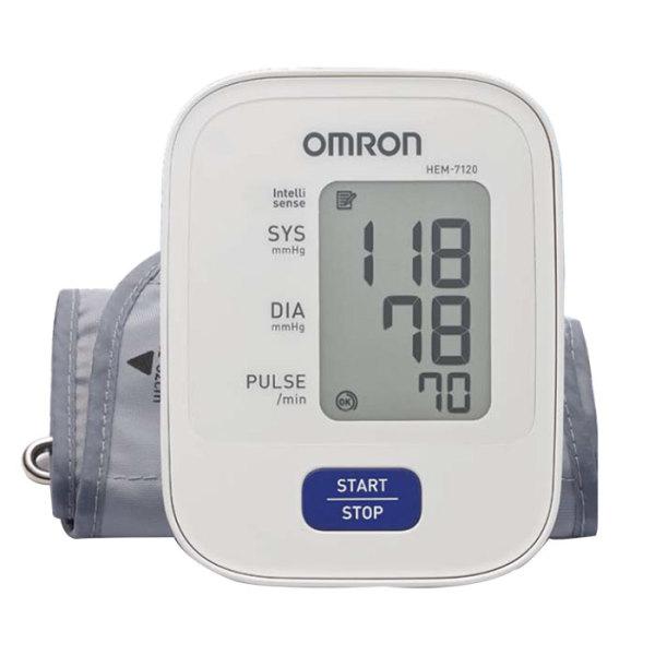 Nơi bán Máy đo huyết áp bắp tay OMRON HEM-7120 -trắng