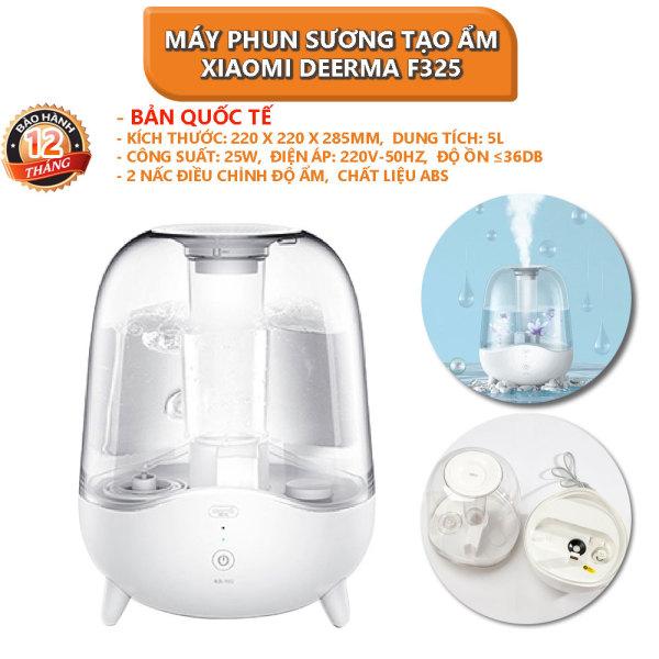 [Bản quốc tế] Máy phun sương tạo ẩm Xiaomi Deerma Humidifier F325 ngôn ngữ tiếng anh, không dùng được tinh dầu - Bảo hành 12 tháng