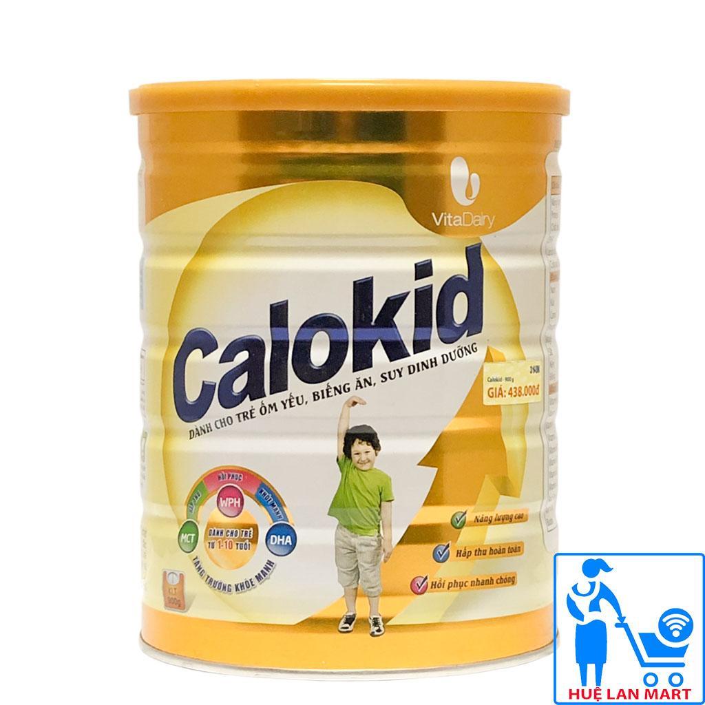 Sữa Bột Vitadairy Calokid Hộp 900g (Dành cho trẻ ốm yếu, biếng ăn, suy dinh dưỡng từ 1~10 tuổi)
