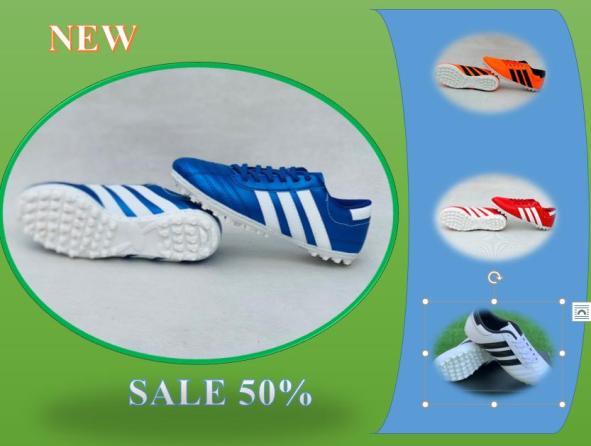 Giày đá bóng soc KH- Sân Nhân tạo - Đế Khâu 100% - size 34-43 giá rẻ