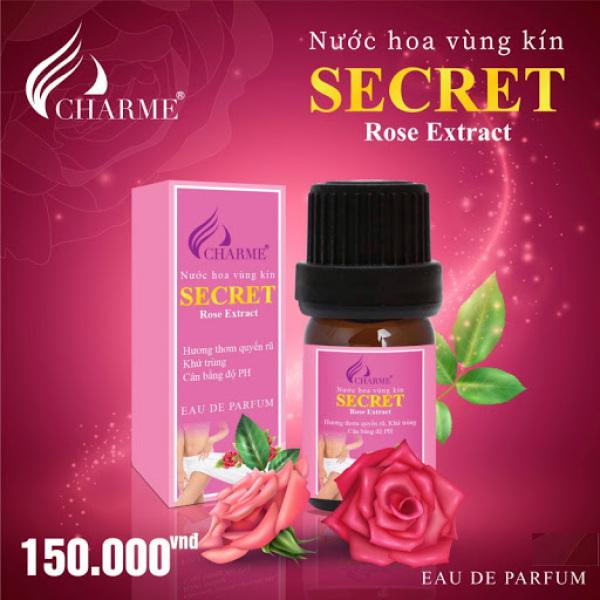 Nước Hoa Vùng Kín Charme Secret Rose Extract 5ml