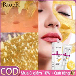 RtopR Mặt nạ lột mụn đầu đen tinh chất vàng giúp giảm nhờn, loại bỏ mụn đầu đen, thông thoáng lỗ chân lông trẻ hóa da, thích hợp cho mọi loại da thumbnail