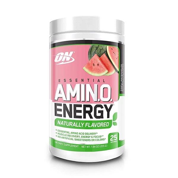 Thực phẩm Tăng Năng lượng ON Essential Amino Energy Natural Flavored - 25 servings -225g cao cấp